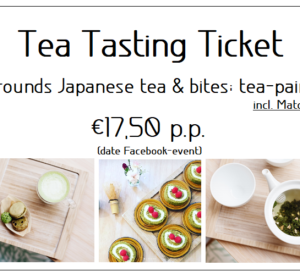 Tea tasting ticket date Facebook-event