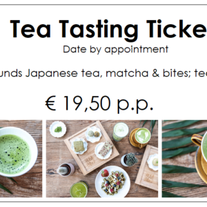 Tea tasting ticket date by appointment