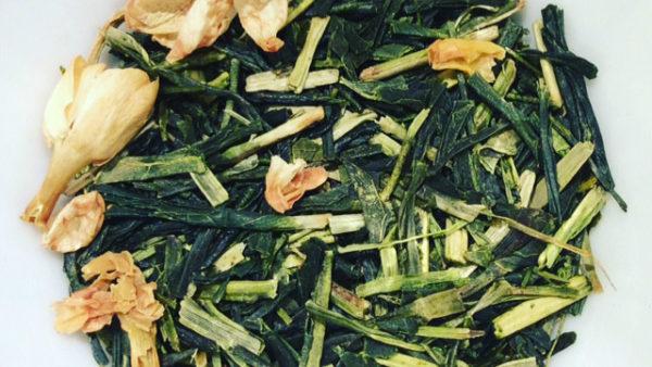 TEA BLEND: GREEN JASMINE TEA (with Kukicha)