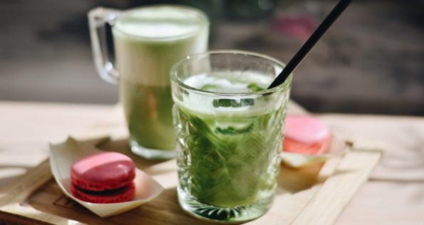Matcha drinks banner