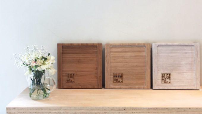 Bamboe dienblaadje – Handmade