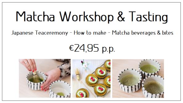 Matcha Workshop & Tasting Ticket