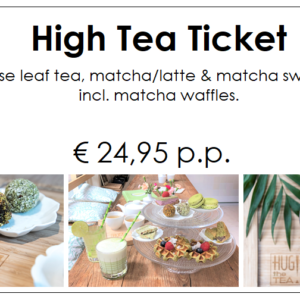 High tea ticket - HUG THE TEA