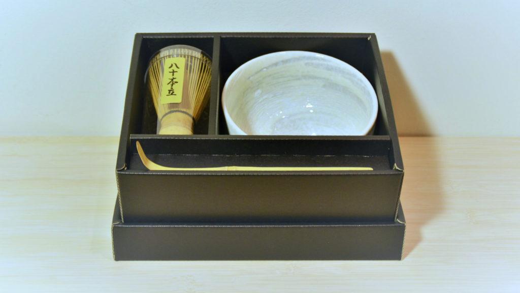matcha box white