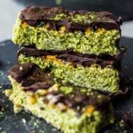 Matcha Coconut Bars