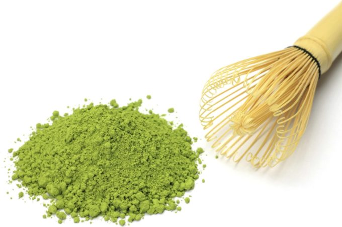 Matcha & bamboo whisk