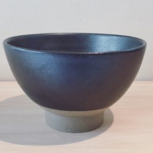 Chawan Matcha bowl - Dark grey 2