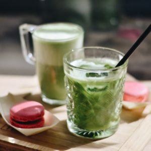 Matcha drinks