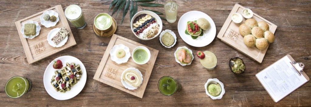 Matcha food inspiration - Hug the tea
