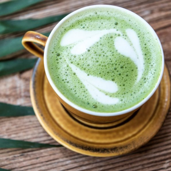 Matcha latte - Hug the tea