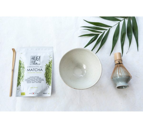 Luxe matcha set van HUG THE TEA