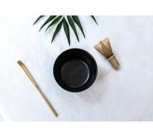 Matcha starter kit zwart - HUG THE TEA