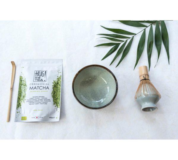 Matcha bowl – Ocean green