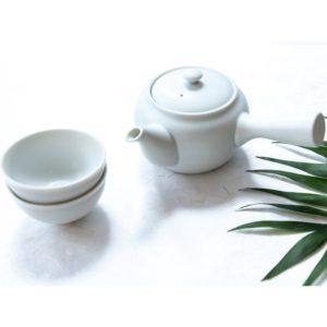Kyusu white - Hug the tea