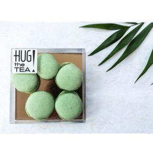 Matcha macarons - Hug the tea