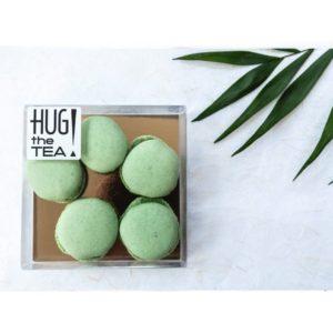 Matcha macarons - Hug the tea