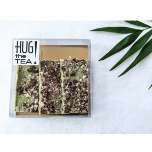 Matcha chocolade - Hug the tea