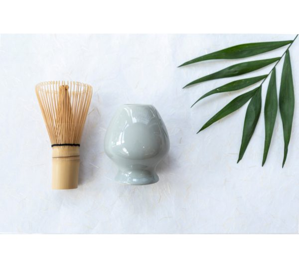 Matcha whisk houder - HUG THE TEA