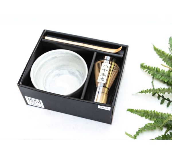 Matcha Box (3 pcs) – with white or blue bowl